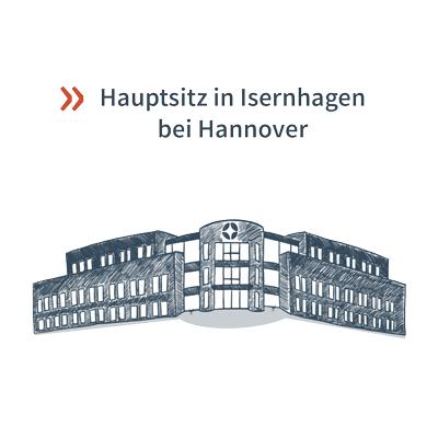 Inwerken Gebäude in Isernhagen Hannover