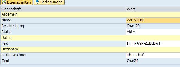 Datenbezug SAP PDF Formular