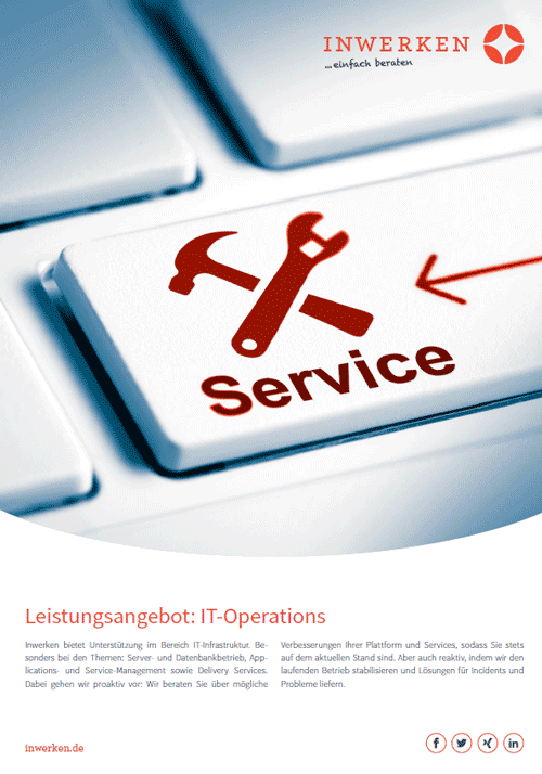 IT Operations - AMS und Architektur Leistung