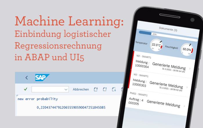Logistische Regressionsrechnung in ABAP und UI5 SAP