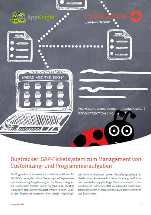 Produktbeschreibung SAP Bugtracker Ticketsystem Add-on