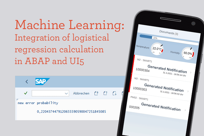 Logistic Regression calculation in ABAP and UI5 SAP